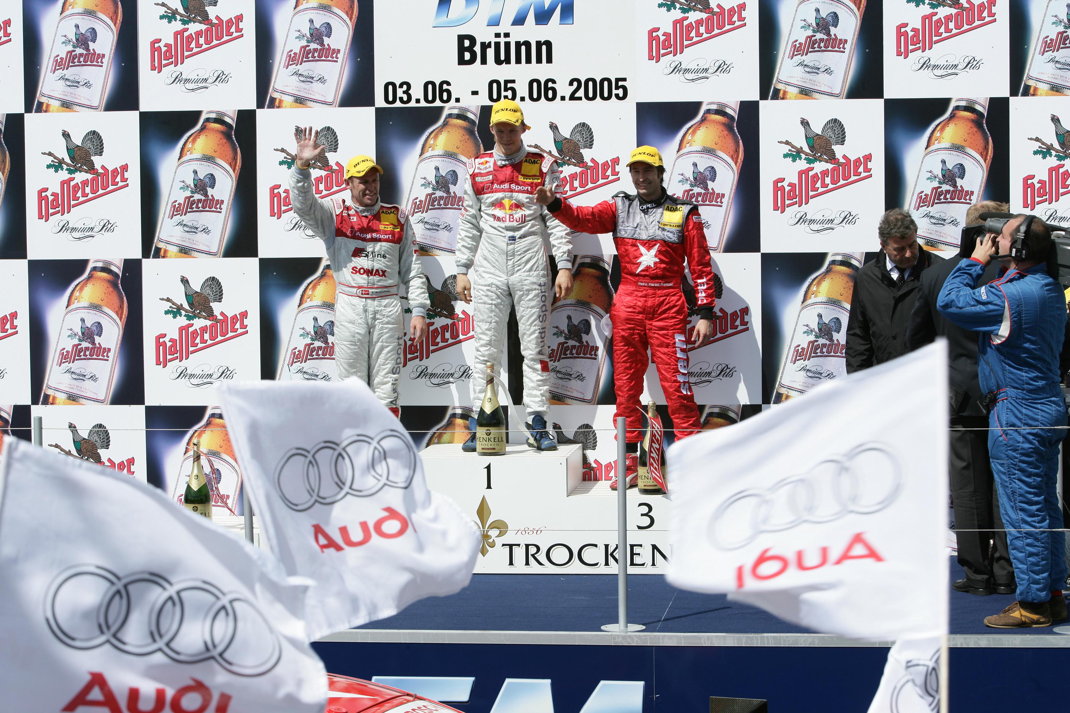 2° Tom Kristensen (Audi Sport